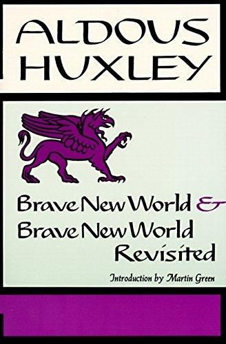 a comparison of todays world and the world created by aldous huxley