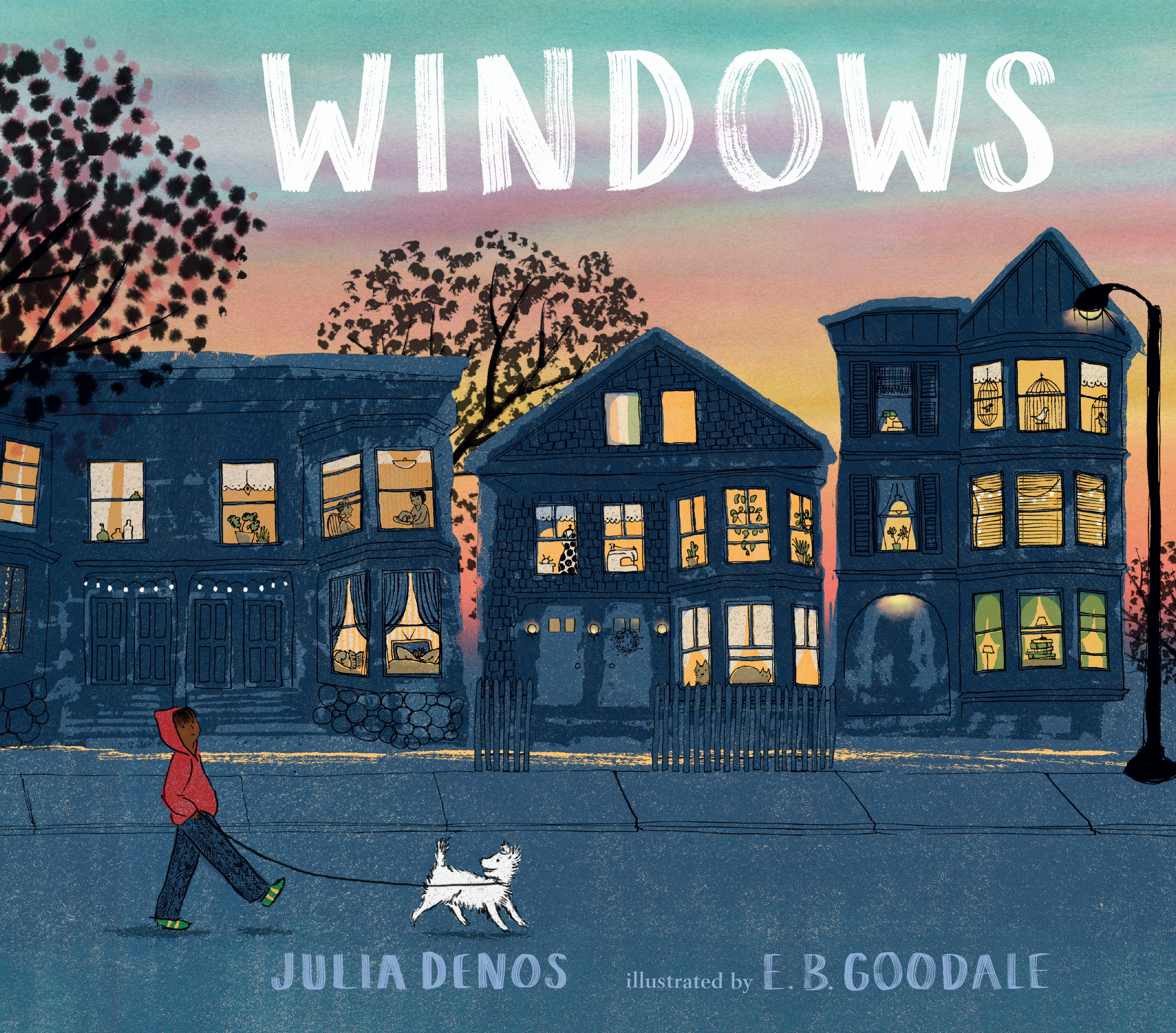 Windows by Julia Denos - Hardcover Illustrated