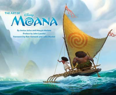 The Art of Moana by Jessica Julius and‎ Maggie Malone - Hardcover