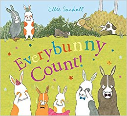 Everybunny Count! written and illustrated by by Ellie Sandall - Hardcover