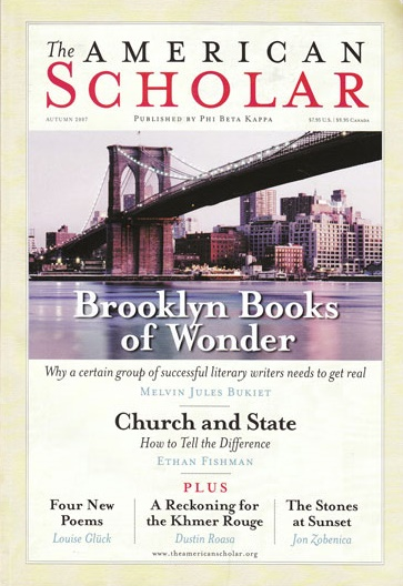American Scholar Volume 76 Issue 4 Autumn 2007