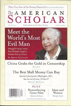 American Scholar Volume 77 Issue 4 Autumn 2008