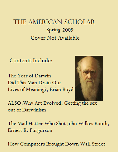 American Scholar Volume 78 Issue 2 Spring 2009