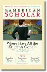 American Scholar Volume 78 Issue 4 Autumn 2009