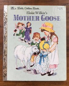 Eloise Wilkin's Mother Goose - Little Golden Book