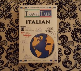 Travel Talk Italian - Book & Cassette Tape Edition - USED Like New