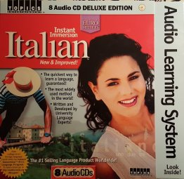 Instant Immersion Italian 8 Audio CD Deluxe Edition