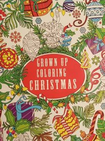 Grown Up Coloring Christmas - Adult Coloring Book