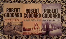 Three (3) Suspense Novels by British Author Robert Goddard - Paperback USED