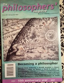 The Philosophers' Magazine Issue 38 Spring 2007 - Magazine Back Issues
