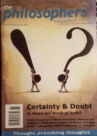 The Philosophers' Magazine Issue 37 2007 - Magazine Back Issues