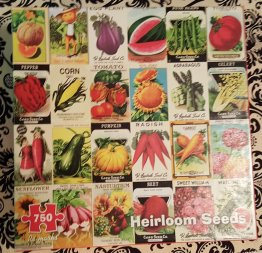 Heirloom Seeds Jig-saw Puzzle 750 Pieces