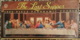 The Last Supper 1000 Piece Panoramic Jig Saw Puzzle