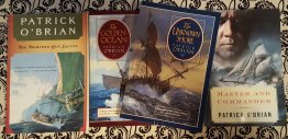 Master and Commander by Patrick O'Brian Set of Four (4) Paperback Books