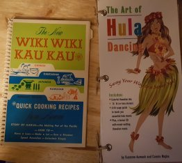 The New Wiki Wiki Kau Kau ANTIQUE Spiral Bound Hawaiian Cookbook PLUS BONUS