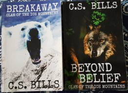 Clan of the Ice Mountains Two (2) Book Set by C.S. Bills Trade Paperback