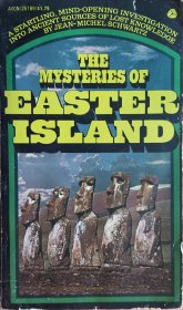 The Mysteries of Easter Island by Jean-Michel Schwartz Paperback VINTAGE 1975 RARE