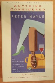 Anything Considered by Peter Mayle Paperback Literary