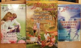 Three (3) Love Inspired Romances Heartwarming Inspirational USED Paperback Books