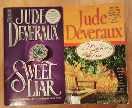 Sweet Liar and The Mulberry Tree Two (2) Mass Market Paperbacks by Jude Deveraux USED VG+ Cond.