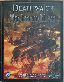 Deathwatch The Jericho Reach - Warhammer 40000 40K Roleplay - Hardcover