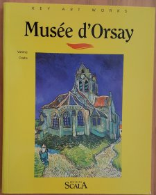 Key Art Works : The Musee d'Orsay - Paperback (Color) Illustrated Art Book