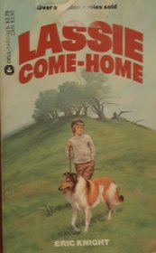 Lassie Come-Home by Eric Knight - Mass Market Paperback VINTAGE 1976 USED