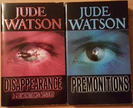 Two (2) Premonitions by Jude Watson - Mass Market Paperback USED