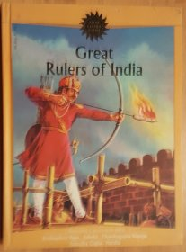 Great Rulers of India : Five Illustrated Classics - Hardcover