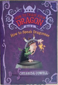 How to Train Your Dragon : How to Speak Dragonese by Cressida Cowell - Paperback USED