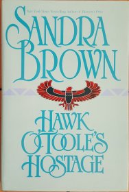 Hawk O'Toole's Hostage by Sandra Brown - Hardcover 20th Century Classics