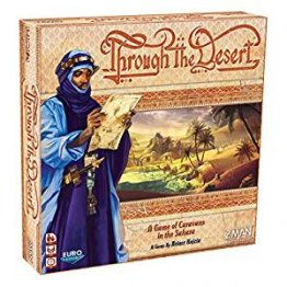Through the Desert Strategy Board Game - from Fantasy Flight Games