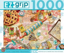 Baking Cookies & Pies EZ Grip Master Pieces 1000 Pc. Jig Saw Puzzle