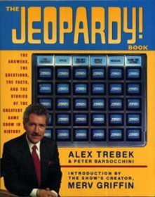 The Jeopardy! Book by Alex Trebek & Merv Griffin - Paperback USED