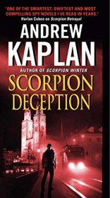 Scorpion Deception by Andrew Kaplan - Paperback Espionage