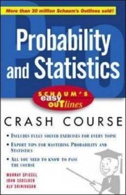 Probability and Statistics : Crash Course : Schaum's Easy Outlines - Paperback