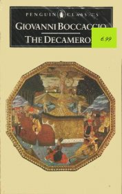 The Decameron by Giovanni Boccaccio - Paperback USED Penguin Classics