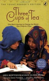 Three Cups of Tea by Greg Mortenson & David Oliver Relin - Paperback