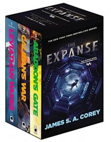 The Expanse Boxed Set : Leviathan Wakes, Caliban's War and Abaddon's Gate Paperbacks by James S. A. Corey