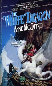 The White Dragon by Anne McCaffrey - Mass Market Paperback USED