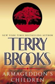Armageddon's Children by Terry Brooks - Hardcover USED Fantasy Fiction