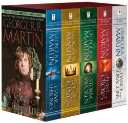 Song of Ice and Fire : George R. R. Martin's A Game of Thrones 5-Book Boxed Set