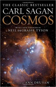 Cosmos by Carl Sagan - Paperback Science Nonfiction