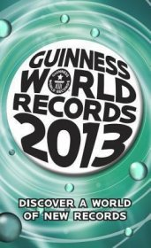 Guinness World Records 2013 - Paperback USED Trivia