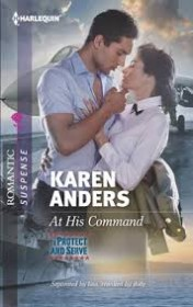 At His Command by Karen Anders - Paperback Romance