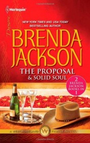 The Proposal & Solid Soul by Brenda Jackson - Two Novels in One Volume USED