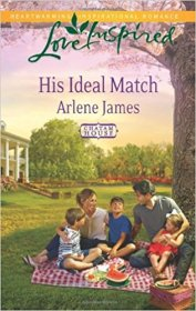 His Ideal Match by Arlene James - Paperback USED Inspirational Romance