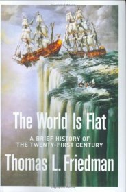The World is Flat by Thomas L. Friedman - Hardcover FIRST EDITION