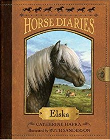 Horse Diaries #1 : Elska by Catherine Hapka and Ruth Sanderson - Paperback