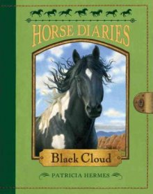 Horse Diaries #8 : Black Cloud by Patricia Hermes - Paperback